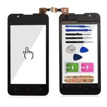 Мобильный телефон с сенсорным стеклом 4,0 для BQ BQS 4072, сенсорный экран, дигитайзер, панель, сенсорные линзы, инструменты, Бесплатный клей