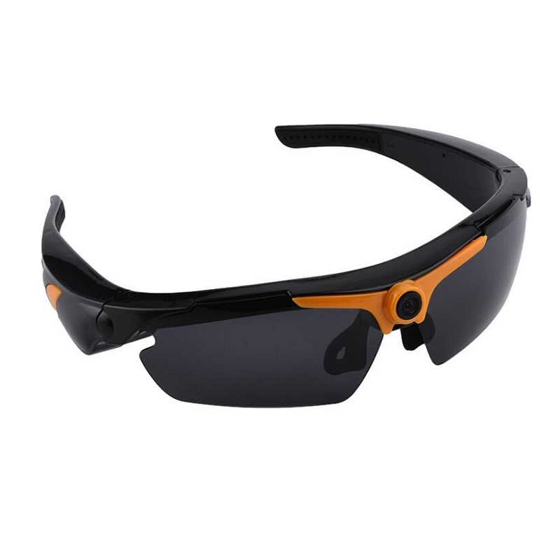 HD 1080P Video Glasses Outdoor Sports Camera Remote Control Digital Recorder Sunglasses