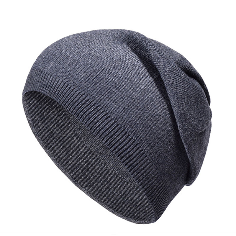 Supply Hot Sale Autumn Winter Men Women's Knitted Wool Skullie Hat Simple Casual Wild Warm Wool Cap For Boy Girl Beanie Hat High Quality Materials