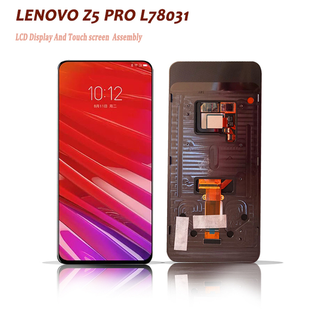 6.39inch new for Lenovo Z5 Pro L78031 / Z5 PRO GT L78032 Touch Screen with LCD Display Assembly  Screen Digitizer phone parts
