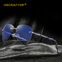2018 Brand Sunglasses Women Vintage Pilot Retro Ladies Aviation Mirror Driving Female Glasses Oversized UV400