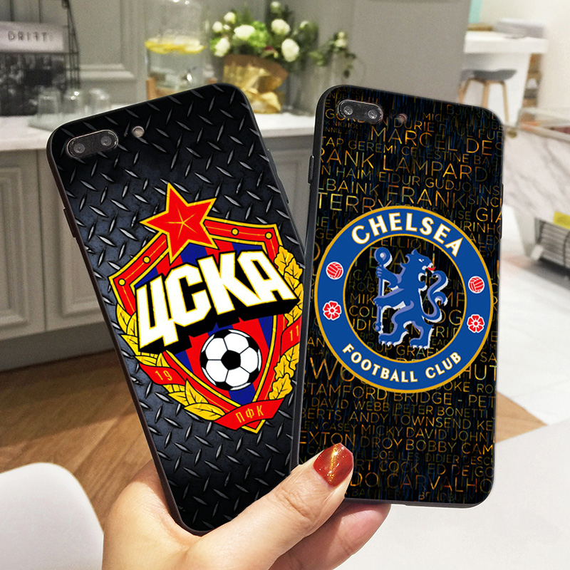 Chelseas Football Iphone X Case FC CSKA Soft Silicone Phone Cover Iphone 6S 8 6 7 Plus 5 5S SE Fundas Coque