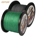Goture Own Brand Braided Fishing Line 500m Smooth Multifilament PE 4 Strands Braided Cord 12LB - 50LB Strong Japan Technology