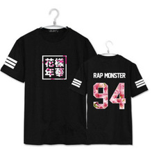 Harajuku Bts T Shirt Women K-pop Couple Clothes  Letter T Shirt White Black Over Size Tops  Jungkook Jimmi  Suga T-shirts  Kpop