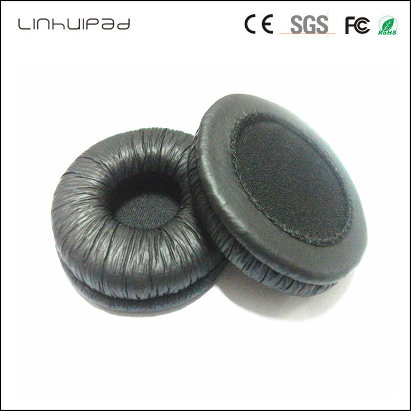 70mm Headphone replacement leatherette ear pads Free shipping by Singpore Post