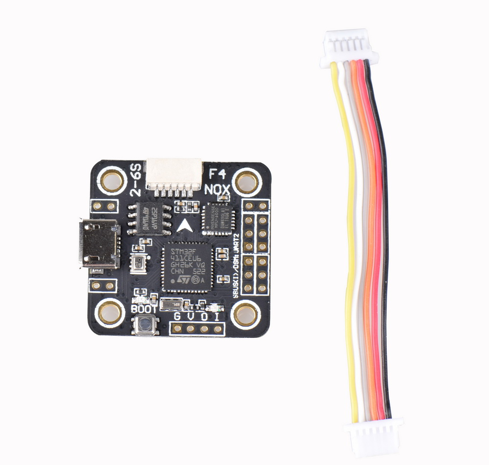 NOXE F4 Flight Controller board MPU6000 sensor OSD 5V / 3A BEC with/without barometer for 90mm 120mm 150mm mini Drone QuadcopterNOXE F4 Flight Controller board MPU6000 sensor OSD 5V / 3A BEC with/without barometer for 90mm 120mm 150mm mini Drone Quadcopter