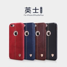 NILLKIN Englon Series Leather Cover For Apple iPhone 6s Plus Case For iPhone 6 Plus Built