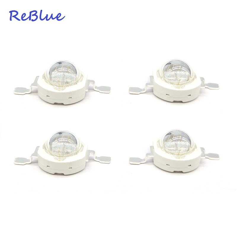 ReBlue 25Pcs Led Grow Light Phyto Lamp Full Spectrum Led 660nm Aquarium Led IR Diode  Grow Light Led Grow Bulbs Seedling