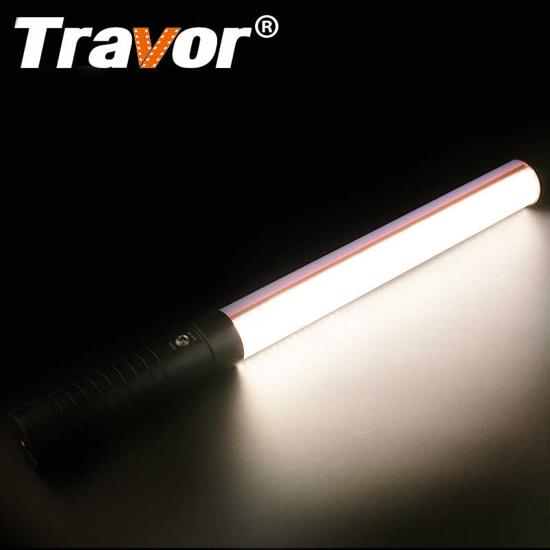 Travor Magic Tube Light Led Video Light 3200K 5600K CRI90 Plastic STL 900 with NP F550