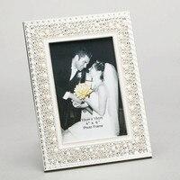 Модные жемчужные фото украшения для дома роскошный жемчуг окаймленная Подарочная фоторамка