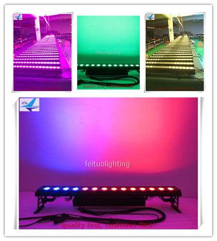 A 8pcs outdoor 14x30 w 3in1 rgb led bar licht outdoor led ...