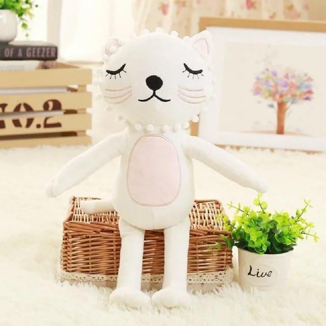Animales de dibujos animados gato kawaii felpa del bebé Muñecas calm ...