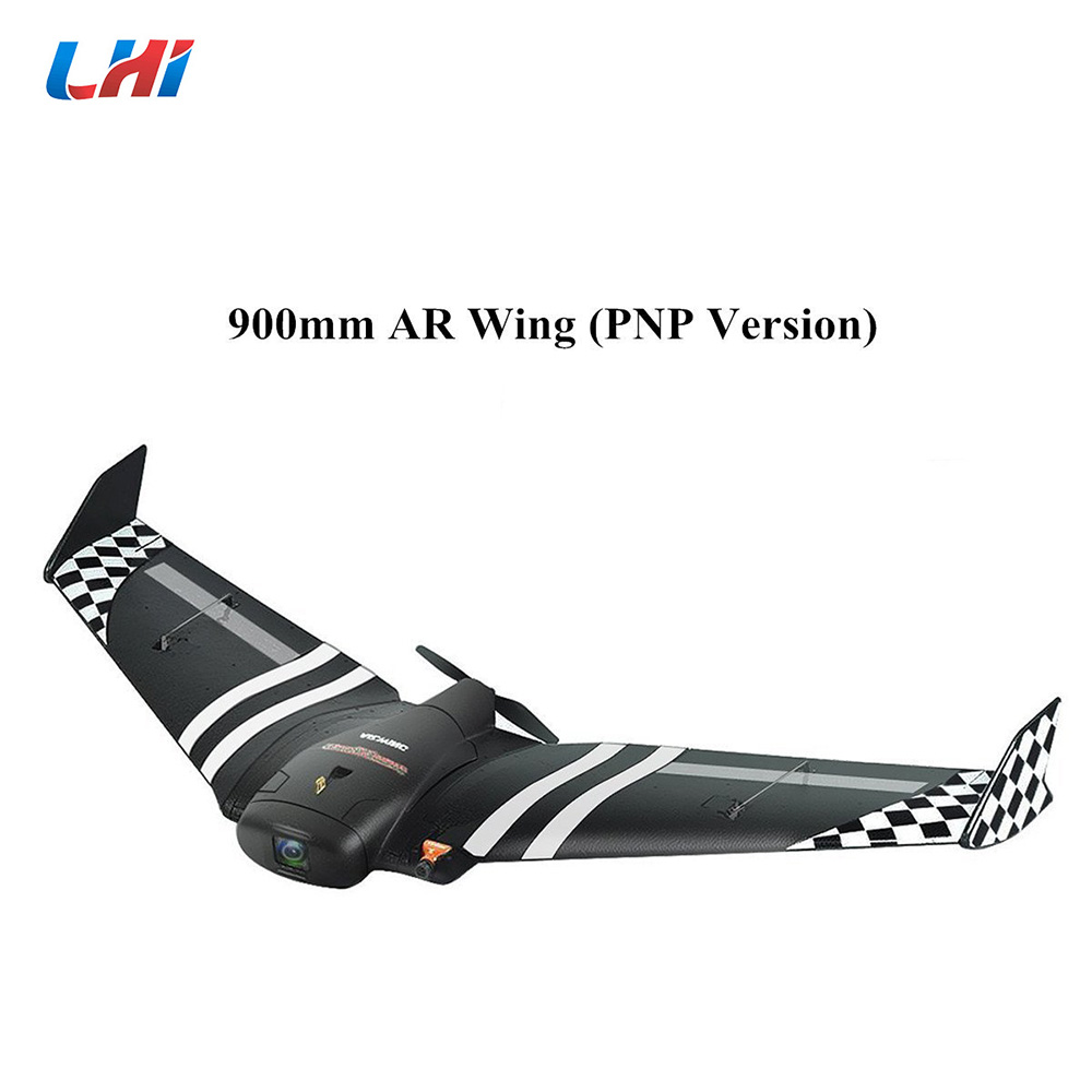 все цены на NEW TOP AR.Wing 900mm Wingspan EPP FPV Fly Wing Fixed Wing RC D Airplane KIT RC Model Aircraft Toys онлайн