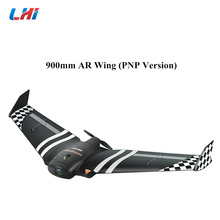 цена на NEW TOP AR.Wing 900mm Wingspan EPP FPV Fly Wing Fixed Wing RC D Airplane KIT RC Model Aircraft Toys