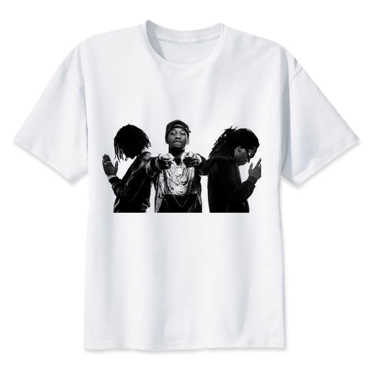 Migos t shirt men men summer fashion high quality t for Best quality mens white t shirts