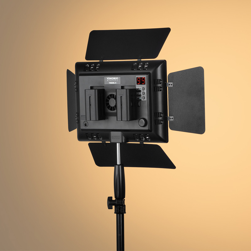 YONGNUO-YN600L-II-5500K-YN600-II-600-Video-LED-Light-Panel-2-4G-Wireless-Remote-Control (5)