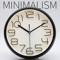 Fashion Simple Wall Clock Modern Design 3D Quartz Silent Wall Clocks Digital Decorative Reloj Pared Watch Klok Time Tool 50A0973