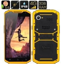 """Original 8 Octa Core A10 6 """"Smartphone 1920×1080 FHD Android 3 GB RAM Drahtlose Lade IP68 Robuste Schlanken Wasserdichten telefon 4G FDD"""