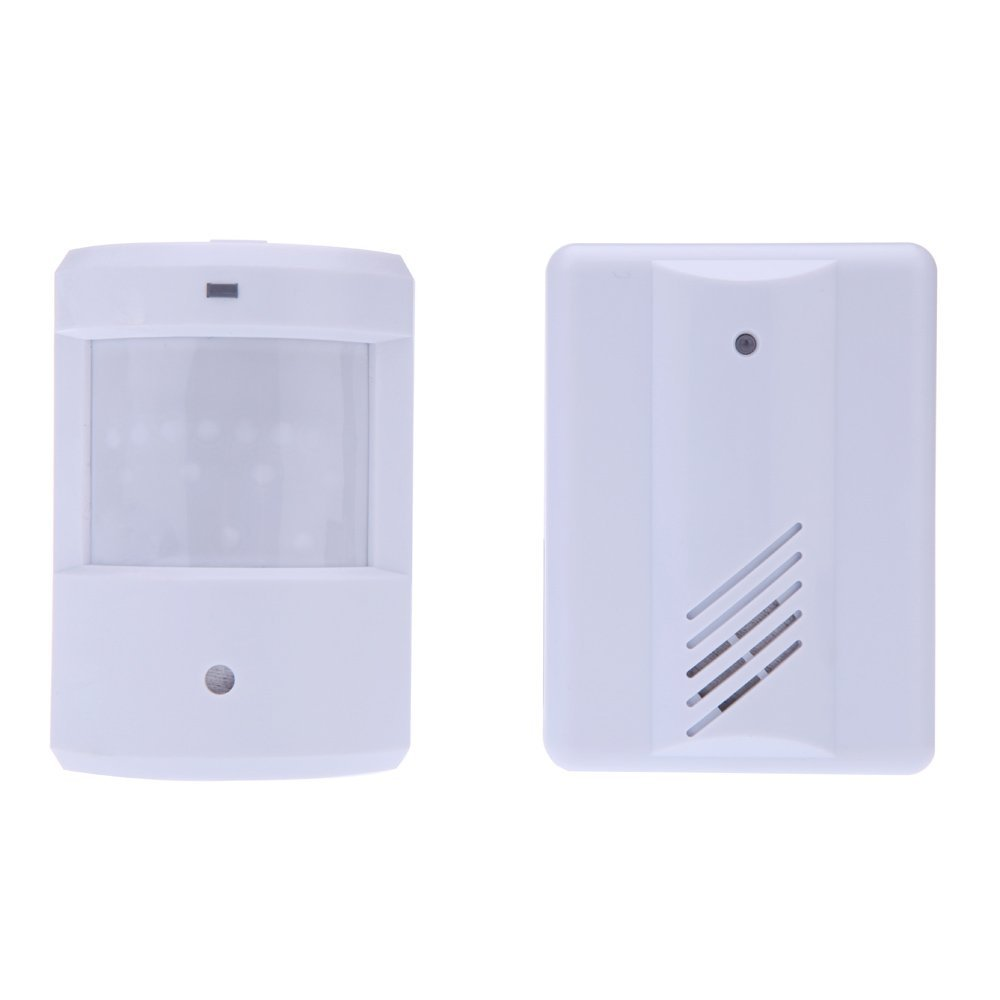 Hot Saleentry Doorbell Chime Alarm Welcome Motion Sensor Wireless Infrared  Sensors White(china (mainland