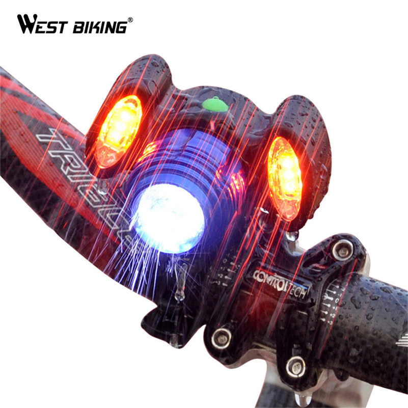 WEST BIKING Bicycle Light USB Rechargeable 200 Lumens Waterproof T6 MTB Road Bike Headlebar Flashlight Cycling Front Light туфли nine west nwomaja 2015 1590