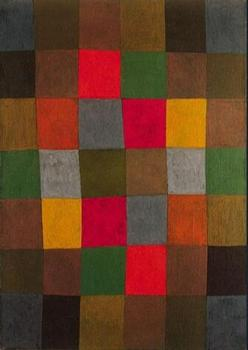 High quality Oil painting Canvas Reproductions New Harmony (1936)  by Paul Klee  Painting hand painted