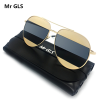 SUNSHINE New Metal All Frame Brand Designer Sunglasses A Lens Two Colors Personality Sun Glasses Fashion