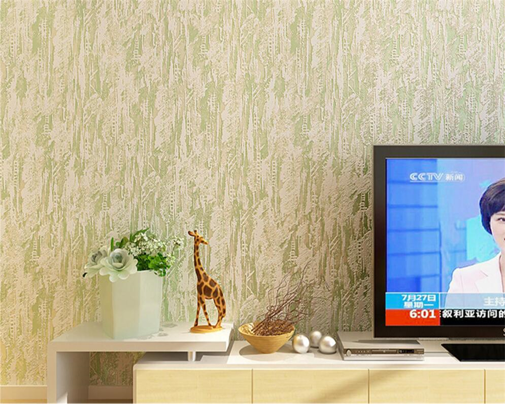 Beibehang New plain nonwovens 3D wallpaper solid color modern living room bedroom TV background decorative 10 m wallpaper roll beibehang wall paper home decor modern pure color plain nonwovens wallpaper living room bedroom tv background 3d wallpaper
