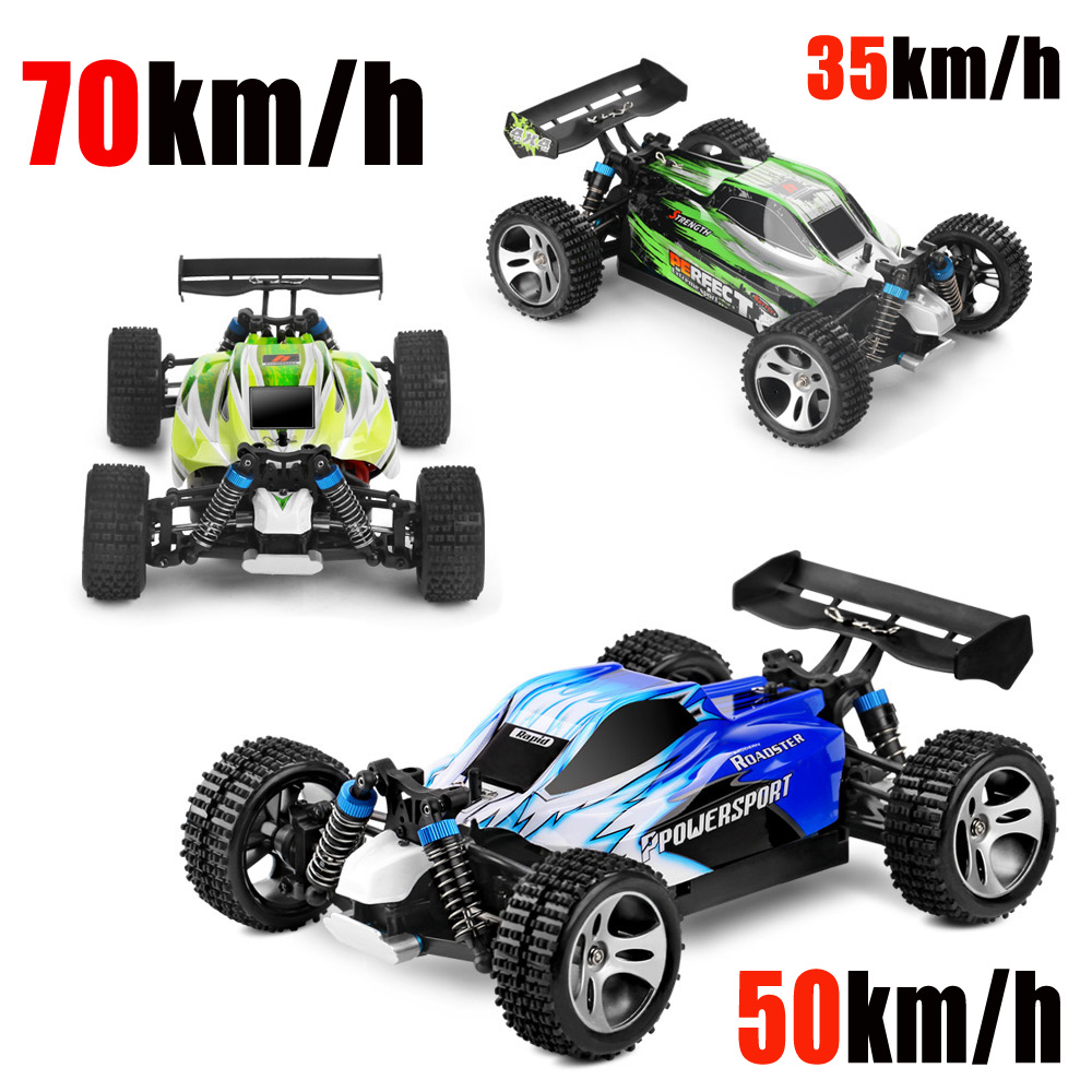 1:18 Supper Racing Car Wltoy A959/B-A Remote Control Car 2.4GHz 4WD RC Car 35-70km/h High speed RC electric car Toy Gift for Boy