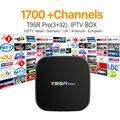 Europa Francês Árabe IPTV Canais Octa-core Caixa de TV Android T95RPRO S912 3G 32G Itália Esporte Canal Plus Francês Iptv Set Top Box