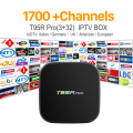 Europe Arabic French IPTV Channels Octa-core Android TV Box S912 T95RPRO 3G 32G Italy Sport Canal Plus French Iptv Set Top Box