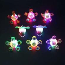 Непоседа Спиннер светильник кольцо для снятия стресса Непоседа игрушки принадлежности вечерние сувениры