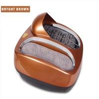 التلقائي بالكامل ذكي وحيد تنظيف آلة التلقائي معدات تلميع الأحذية بدلا من آلة أغطية الحذاء