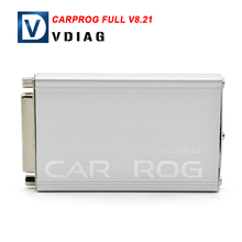 2016 hot selling Carprog Full V8.21 with 21 Adapters For Immobilizer Repair Online Version DHL free Shipping