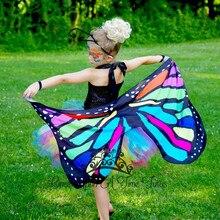 Новинка года; Рождественский плащ «бабочка» в цветочек для девочек; Радужное платье принцессы для дня рождения для девочек; Детский костюм на Хэллоуин; От 2 до 14 лет