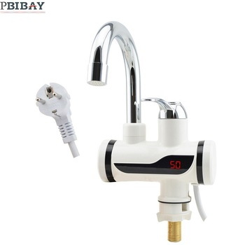 BD3000W-17,free shipping,Digital Display Instant Hot Water Tap,Tankless Electric Faucet,Kitchen Faucet Water Heater,with EU plug