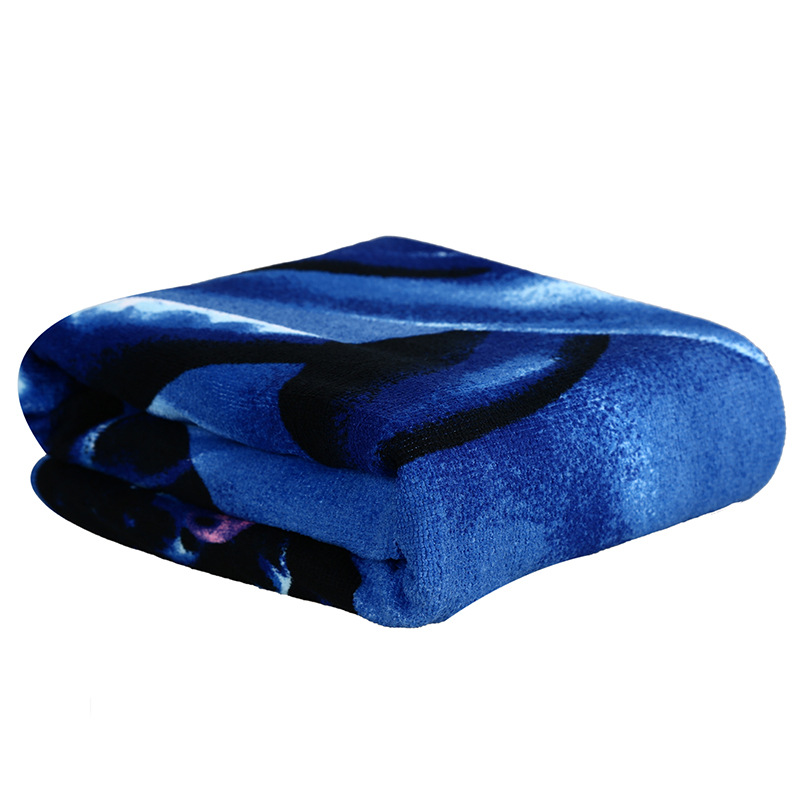 Dolphin print Sweat Fine microfiber Towel Bath Towel Spa Party Sports Beach Swimming Bath Towels For Adults 150*70cm Toallas