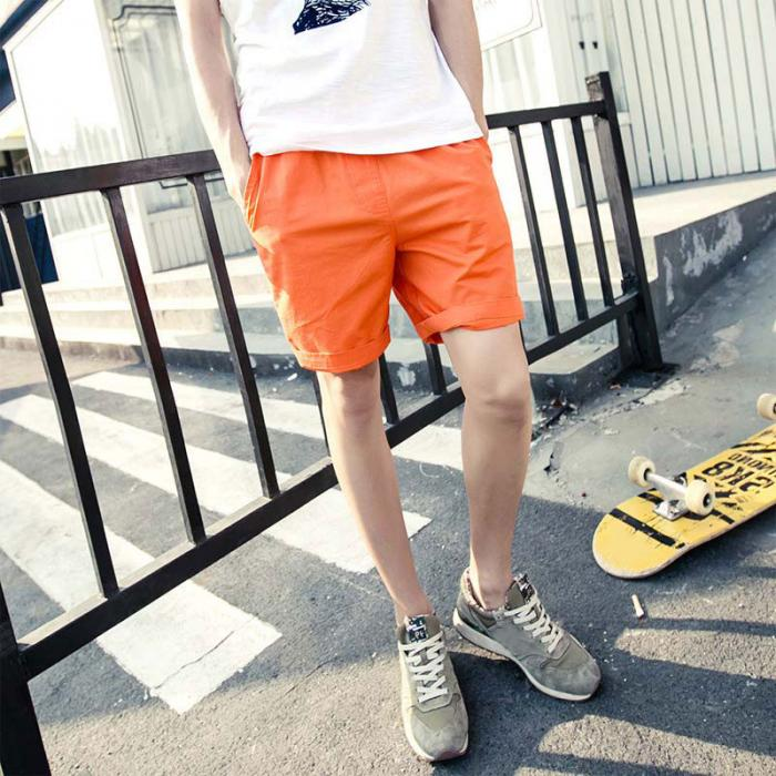 Mens Beach Shorts Fashion I Love Meat 100/% Polyester Elastic Waist Pants