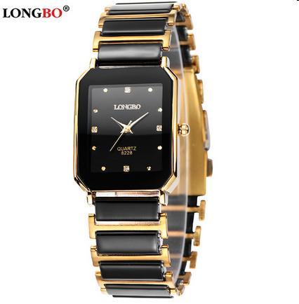2016 Hot Selling Male Business Fashion & Casual Dress Watch Quartz Watch Black Mens Ceramic Luxury Watches Gift Waterproof Watch
