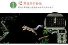 3 Шт./лот DHL Бесплатно Качество Дикой Охота Камера 12MP HD Цифровая Ик Скаутинг След Камера 940nm ИК-ПОДСВЕТКОЙ Ночного Видения видео