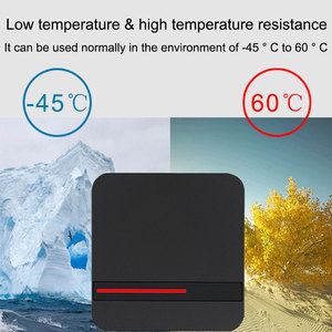 Image 5 - RFID Reader Long Range 125KHZ/13.56MHZ Access Control Reader Proximity Card Wiegand 26/34 IP68 Waterproof Small IC Card Reader