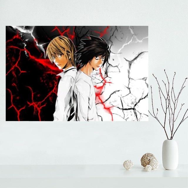Belle Personnalis Death Note  Anime Toile Affiche Imprimer