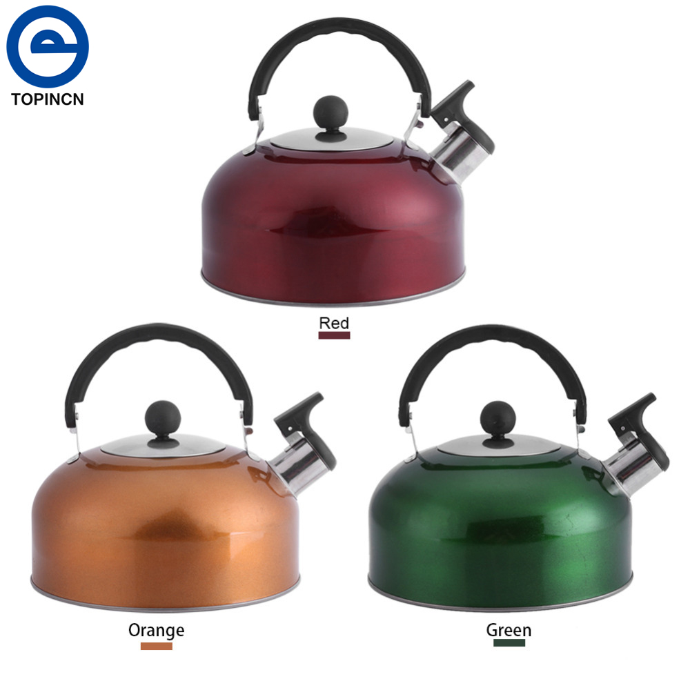 online buy wholesale whistling teapot from china whistling teapot  - l tea kettle kitchen electric teapot stove whistling large spout coffeekettle stainless steel hot water