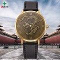 Chinese Zodiac 12 Hombre Reloj 2016 de Alta Valor de la Colección de Regalo 30 M Impermeable Ronda Moda Casual Analógico de Cuarzo Reloj de Los Hombres