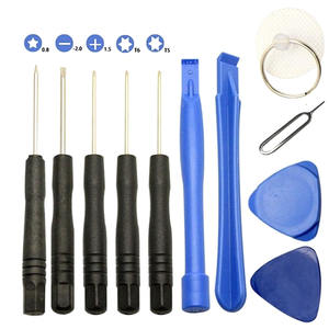 Repair Tools Kit For iPhone 8 7 6 5 4 4S 3GS Opening Pry 11 Pcs/Set Screwdriver