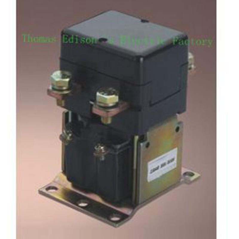 ZJQ-300 ZJQ-3XX GE300A normally open 12V 24V 36V 48V 60V 72V 300A DC Contactor for motor forklift electromobile wehicle car dc reversing contactor dc182b 537t for forklift 48v 200a zapi b4dc21