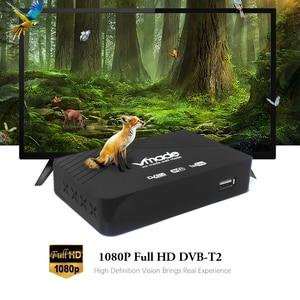 Image 2 - DVB T2 odbiornik dekodera DVB T cyfrowa telewizja HD Tuner Receptor MPEG4 H.264 naziemny odbiornik TV prefiks DVB T2 obsługa wifi