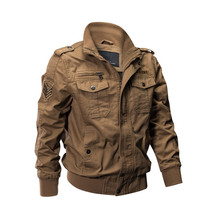 MORUANCLE Casual Cargo Military Style Flight Bomber Jacket And Coat For Man Outerwear