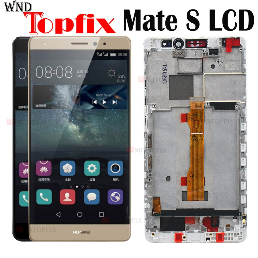 5.5 For HUAWEI Mate S LCD Display with Touch Screen Digitizer Assembly Replacement Parts CRR-L09 CRR-UL20 CRR-TL00 CRR-CL00 LCD5.5 For HUAWEI Mate S LCD Display with Touch Screen Digitizer Assembly Replacement Parts CRR-L09 CRR-UL20 CRR-TL00 CRR-CL00 LCD