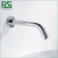 Automatic Sensor Cold And Hot Faucet Brass Chrome Basin Tap High Quality Brand New Free Shipping