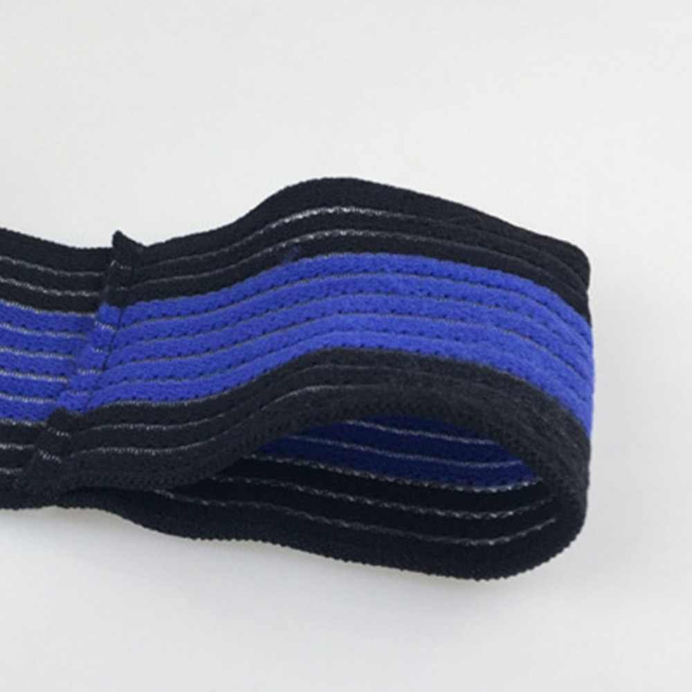 1pc esporte ajustável algodão elástico bandagem mão esporte pulseira ginásio suporte de pulso cinta treinamento fitness segurança proteger